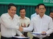 La VNA et Kien Giang coopèrent dans la communication