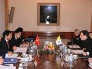 Prochaine réunion du groupe mixte Vietnam-Vatican