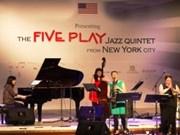 Le quintet Five Play se produira à Thanh Hoa et à Vinh