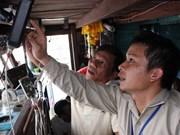 La technologie satellitaire aide les pêcheurs de Soc Trang