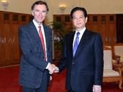 Vietnam et Royaume-Uni développent leurs relations économiques