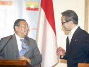 Indonésie et Myanmar promeuvent la coopération commerciale