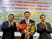 Le consul général de Singapour à l'honneur
