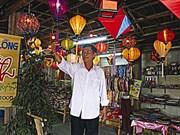 Pham Van Hà met en lumière la lanterne de Hôi An