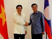 Vietnam et Laos renforcent leur coopération frontalière