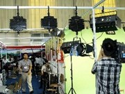 Ouverture de la 1ère exposition du Téléfilm 2013 à Hanoi