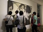Peinture : exposition indonésienne à Ho Chi Minh-Ville