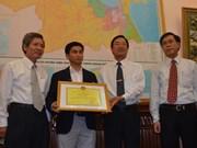 Souveraineté insulaire du Vietnam : un Viet kieu reçoit un satisfecit