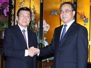 Activités du chef de l'Etat vietnamien à Guangzhou