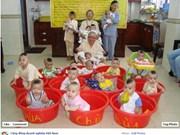 La pagode Linh Son s'engage pour les enfants déracinés