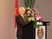 Activités de M. Nguyen Phu Trong en Thaïlande