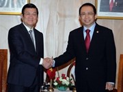 Activités de Truong Tan Sang en Indonésie