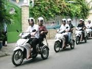 Koica finance un service de moto pour les handicapés