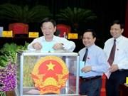 Hanoi annonce les résultats du vote de confiance