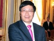 Le ministre Pham Binh Minh attendu en Inde