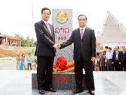 Achèvement du bornage frontalier Vietnam-Laos