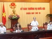 Le Comité permanent de l'Assemblée nationale se réunit