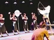 Cirque: le tir à l'arc, ce sera le pied... pour Thu Hiêp