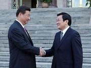 La visite en Chine de Truong Tan Sang a promu les relations bilatérales