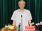 Hai Phong appelée à affirmer son rôle clé dans la ZE du Bac Bô