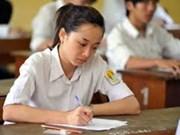 Bonne note pour le concours d'entrée universitaire 2013