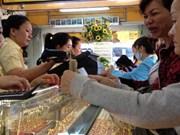 La BEV a vendu aux enchères 26.000 taëls d'or