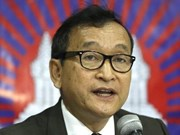 Cambodge: le leader de l'opposition Sam Rainsy gracié