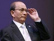 Le président birman en visite historique au Royaume-Uni