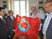 """Une délégation de la Revue """"Communiste"""" en visite de travail en Italie"""