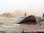 Erosion du littoral, un problème préoccupant au Vietnam