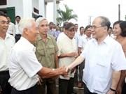 Le président de l'AN met l'accent sur l'agriculture, la ruralité et les paysans