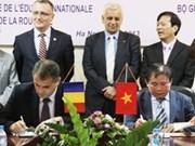 Coopération Vietnam-Roumanie dans l'éducation et la formation