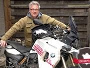 Un périple de 15.000 km en moto pour la bonne cause