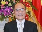 Nguyên Sinh Hung entame sa visite officielle en R. de Corée