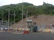 Quang Tri: mise en service de la station de transformateurs électriques de Ta Rut