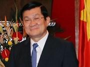 Le président Truong Tân Sang s'envole pour les Etats-Unis