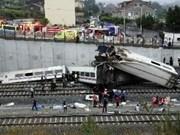 Accident ferroviaire : condoléances à l'Espagne