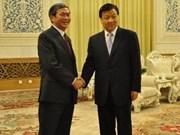 Vietnam et Chine discutent de l'édification du Parti