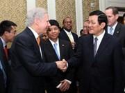Truong Tân Sang achève sa visite officielle aux USA