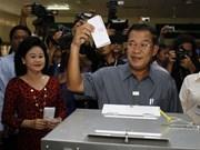 Ouverture des 5es élections législatives au Cambodge