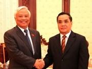 Un vice-président de l'AN en visite au Laos