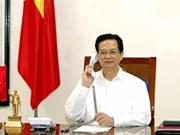 Entretien téléphonique Nguyên Tân Dung - Shinzo Abe