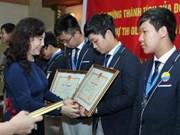 Maths : le président félicite l'équipe vietnamienne