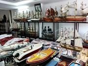 """Maquettes de bateaux """"made in Vietnam"""", toutes voiles dehors"""