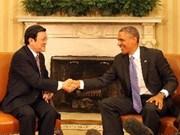 La presse russe apprécie la visite aux USA de Truong Tan Sang