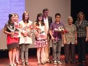 Prix de la jeunesse «Alexandre Yersin » à 4 étudiants