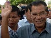 Le Premier ministre félicite son homologue cambodgien