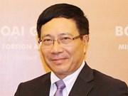 Le ministre vietnamien des AE entame sa visite en Afrique du Sud
