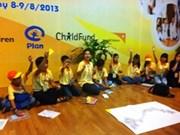 Ouverture du Forum national des enfants 2013