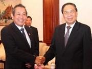 Coopération entre les Cours suprêmes vietnamienne et laotienne